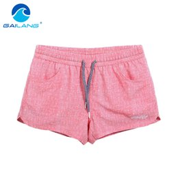New Dryers Canada - Gailang Brand Quick-drying Women shorts Swimwear Swimsuits Woman boardshorts polyster new Trunks Bermuda Casual Trunks