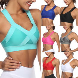 13d484d15 Vertvie Women s X-type Beauty Back Bra Fitness Shockproof Sports Underwear  2018 New For Woman Cross Strap Back Women Sports Bra