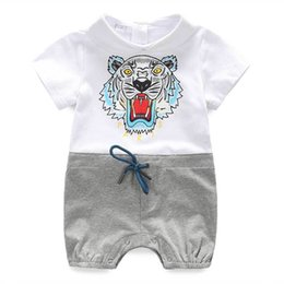 BaBy toddler halloween online shopping - 0 Months Baby Boy Romper Summer Fashion Short Sleeve Baby Boy Clothing Toddler Roupas Clothes Newborn Baby Girl Clothes Infant Jumpsuit
