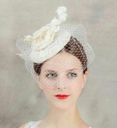 Handmade Bow Tiara Canada - Handmade hemp flowers, headwear, hat, wedding dress, accessories, veil, bride accessories