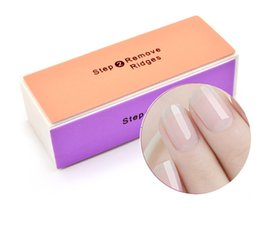 Nail file smoother buffer online shopping - New Professional Womens WAY NAIL FILE BUFFER Polishing Block Four Art Smooth Shine