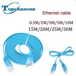 Wholesale 10x High Speed Cat6 Ethernet Flat Cable RJ45 Computer LAN Internet Network Cord m m m m m m m m m High Quality