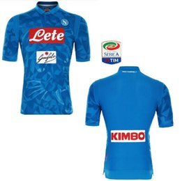 jersey naples 2019 - Thai quality Maglie calcio Naples soccer jerseys 2019 Camiseta Maillot José Callejón Italian Napoli Dries Mertens Marek