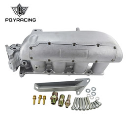 ford engines NZ - PQY - NEW INTAKE MANIFOLD FOR MAZDA 3 MZR FOR FORD FOCUS DURATEC 2.0 2.3 ENGINE CAST ALUMINUM INTAKE MANIFOLD PQY-IM49SL