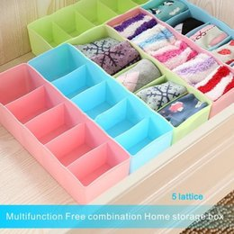 Plastic cosmetic can online shopping - Multi color Fashion Format Storage Box Can Be Freely Combined Store Underwear Socks Cosmetics For Cabinets Drawers