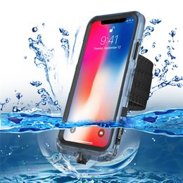 Hot Sales Iphone Case NZ - Wholesale Scratchproof Waterproof Phone Case Cover For iPhone X,Waterpoof Clear Phone Shell For iPhone Hot Sales