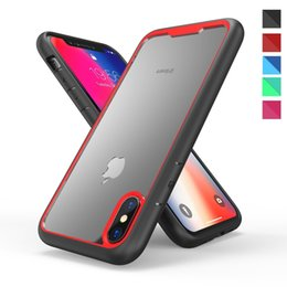 Nextel battery online shopping - For iPhone Xs Max Xr Plus s Shockproof Bumper Hard Armor PC Clear Case Cellphone Protective Cover