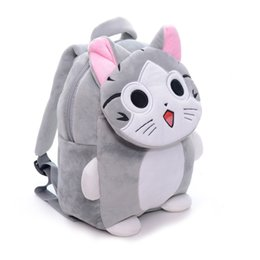 Plush Cartoon Backpack Backpacks Kids Adjustable Baby Shoulder Kindergarten Bag 2 5 Years Old Birthday Gifts
