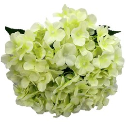 China artificial flowers silk hydrangea for festival decoration commercial decoration wedding aisle flower bouquet suppliers