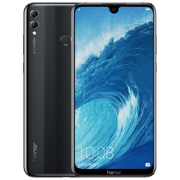cell phone full screen 2020 - Original Huawei Honor 8X Max 4G LTE Cell Phone 4GB RAM 64GB 128GB ROM Snapdragon 636 Ocra Core 7.12 inch Full Screen 16M