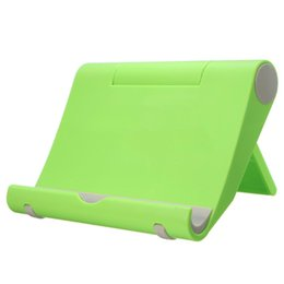 Foldable Desk Stand For Tablets UK - Universal Foldable Table Desktop Desk Stand Holder Mount Cradle For Phone Tablet
