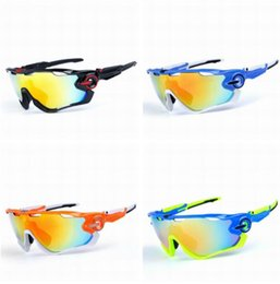 14dbf0a3ef8 New Sport Polarized Sun Glasses Brand Designer Cycling Sunglasses Racing  Mountain Bike Goggles Interchangeable 3 Lens Jaw Cycling Eyewear
