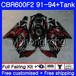 $enCountryForm.capitalKeyWord Canada - Body For HONDA CBR 600F2 FS CBR600RR CBR600 F2 91 92 93 94 1HM.75 CBR600FS CBR 600 F2 CBR600F2 1991 1992 1993 1994 Fairing kit Red flames