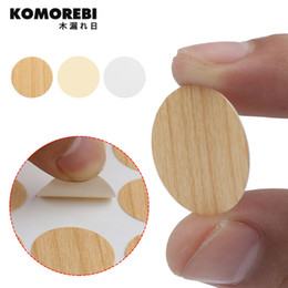 Furniture Hot Sale Plastic Round Shaped Cover Screw Cap Lid White 50pcs For 5mm Dia Hole