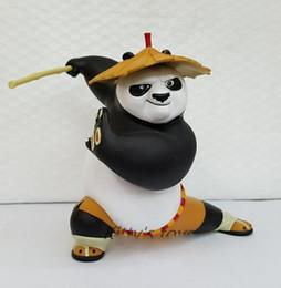 kung fu figures 2019 - 2018 Hot 20 cm Kung Fu Po Panda Dragon Warrior Comics PVC Action Figures Toy for Kids Birthday Gift cheap kung fu figure