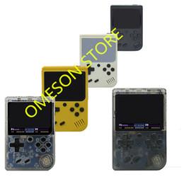 Vente en gros Coolbaby Upgrade RS-6A peut stocker 168 jeux Retro Portable Mini console de jeu portable 8 bits 3.0 pouces couleur LCD Game Player pour le jeu FC