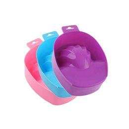 $enCountryForm.capitalKeyWord UK - Hot Soaking Soak Bowl Nail Art Tips Soak Bowl Nail Art Hand Soak Bowl Tray Wash Soaker Manicure Treatment Remover Box