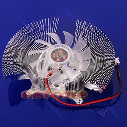 Discount hole video - VGA PC Computer Video Card Cooler Cooling Fan Heatsinks 4 VGA Card Installation Holes 2-Pin Cooler for Graphics Cooling
