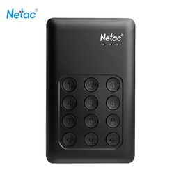 "2tb external hard drives 2019 - Netac K588 HDD 2TB USB 3.0 2.5"" Portable HDD Encryption External Hard Disk Drive Independent Keypad Lock for Deskto"