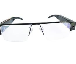 Eyeglasses Hd Camera NZ - HD 1920x1080P Super Glasses Mini Camera Security Eyeglasses DVR Video Recorder Eyewear Cam Portable Camcorder Support Audio Recording