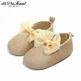 Beautiful Baby Shoes Australia - dkDaKanl Baby Shoes beautiful bowknot Soft And Comfortable Non-slip breathable Spring and Autumn Baby Shoes LXM46