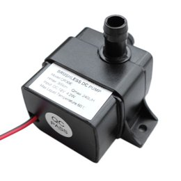 Chinese  Ultra-Quiet DC 12V 4.2W 240L H Flow Rate Waterproof Brushless Pump Mini Submersible Water Pump QR30E 2017 Brand New manufacturers