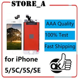 $enCountryForm.capitalKeyWord Australia - High Quality for iPhone 5 5C 5S SE LCD Display Touch Screen Digitizer Assembly Replacement 100% Test Black White