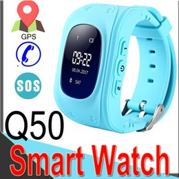 Use Games Canada - Q50 Smart Watch for Kids GPS Tracker Phone Game Smart watches SOS Anti-lost With SIM Card Slot for IOS Android BirthdayGift XQ2