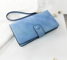 Free Style Wallets NZ - new 2018 women's B027 Europe and the United States sell like hot cakes style package mail free wallet