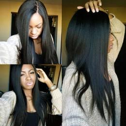 virgin mongolian straight human hair bundles 2019 - 10A Mongolian Virgin Hair Kinky Straight 3 Bundles 100% Mongolian Kinky Straight Human Hair Extensions Mongolian Coarse