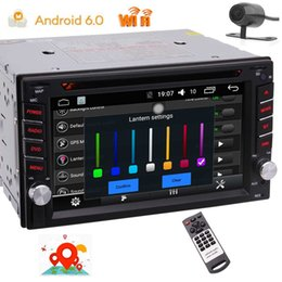 2din gps NZ - EinCar Quad Core Double 2Din Android6.0 Car Stereo System in Dash Car DVD Player FM AM RDS Radio Steering Wheel Control GPS