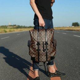 High Quality Backpack Brands Australia - high quality old flower christopher backpacks 2019 new brands shoulder bag clutch handbag luxury travel bag M43735 PVC Bucket bag totes