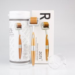 Zgts Derma Roller 192 Titanium Needles Australia - 192 Pins Titanium Needles ZGTS Derma Roller Skin roller for Cellulite Age Pores Refine DHL Free Shipping