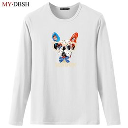 $enCountryForm.capitalKeyWord Australia - Fashion Couples Adventure dog Printed T-shirts Men Women Casual Cotton tshirts Hip Pop Funny Animal Skateboard Man Tops Tees