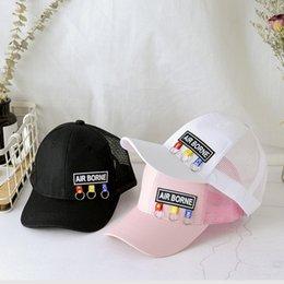 $enCountryForm.capitalKeyWord Australia - The Tide Outdoor Sports Net Cap Casual Baseball Cap for Boys & Girls Summer Sun Hat Breathable Sun Cap