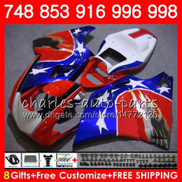 Star compreSSion online shopping - kit For DUCATI Blue star red HM62 S R Fairing