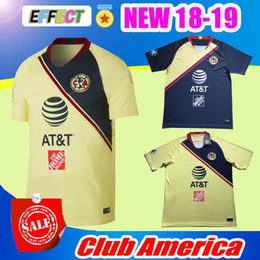 NEW Arrived TOP Quality 2018 2019 LIGA MX Club America soccer Jerseys home  away Third Green Yellow 18 19 Camisetas O.Peralta football shirts cce8ce4e1