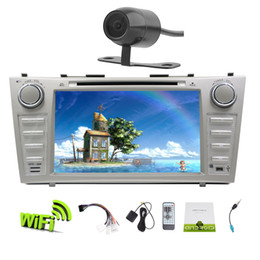 toyota camry gps navigation touch screen NZ - EinCar In Dash Android 6.0 Double Din 8'' Capacitive Touchscreen Car Stereo car DVD Player GPS Navigation Wifi Bluetooth Mirror Link SWC