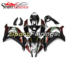 Body Ninja Zx Australia - New Customize ZX10R 2016 2017 ABS Plastics Complete Fairings For Kawasaki Ninja ZX-10R 2016 2017 Body Kit Bodywork Red Black Silver Cowlings