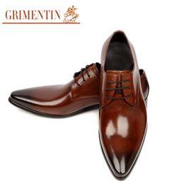 $enCountryForm.capitalKeyWord NZ - GRIMENTIN Hot sale Italian fashion formal mens dress shoes leather black men oxford shoes genuine leather business wedding men shoes size:11