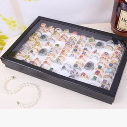 rings jewelry tray for 100 rings display accept simple convenient wholesale hot fashion free of shipping on Sale