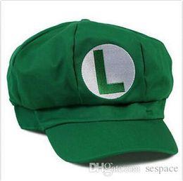 93706c998fe Super Mario Hats Australia - Wholesale- Super Mario Bros Adult Kids Costume  Hat Women Men
