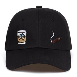 Cube blaCk letters online shopping - 2018 cube dad hat Cotton Baseball Cap For Men Women Adjustable Hip Hop Snapback golf Cap hats Bone Garros Casquette
