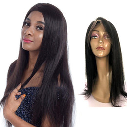 $enCountryForm.capitalKeyWord NZ - 100% long lasting best on sale remy virgin human hair natural color long silky straight full lace wig for women