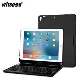 $enCountryForm.capitalKeyWord NZ - witsp@d-For NEW IPAD 2017 Backlit Wireless Bluetooth Keyboard with 360 Rotation Slim Hard Shell Aluminum Alloy Protective Cover
