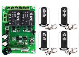 $enCountryForm.capitalKeyWord Australia - DC24V 2CH Wireless Remote Control Switch System Receiver&2 Keys metal waterproof Remote  lamp  window Garage Doors shutters