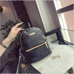girls school bag best NZ - PU Leather Mini Women Bag Girls Backpacks Travel Casual Leisure School Day Pack Luxury Fashion High Quality Best Design Wholesale Cheap