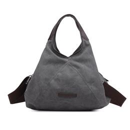 78cfa6a532 KVKY Retro Canvas Women Crossbody Bags 2017 Ladies Handbag Casual Hobos  Female Totes Bolsas Vintage Solid Woman Shoulder Bag Sac