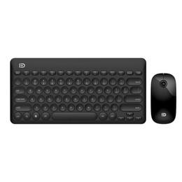 Discount slim mouse for laptop - FD IK6620 Ultra Slim 2.4G Wireless Keyboard Mouse Set Gaming Keyboard Mouse Combo kit for Desktop Laptop PC Computer