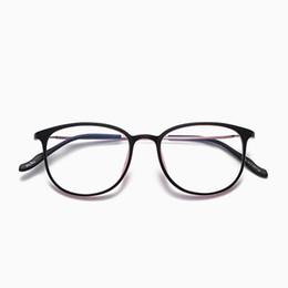 Discount new spectacles frames for men - 2018 New Retro Square Frame Eyeglasses Frames Men Spectacle Eye Glasses Women Eyewear Frame for Myopia Oculos De Grau Hy